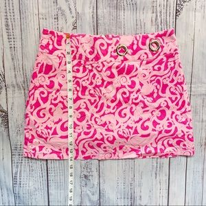 Lilly Pulitzer Skort With Grommet Detail
